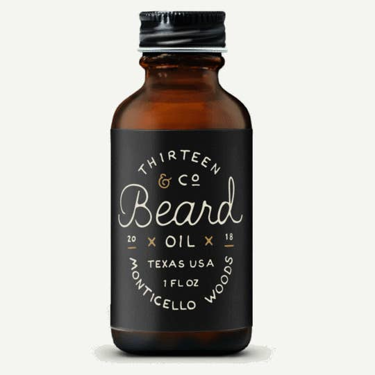 1 oz Monticello Woods Beard Oil