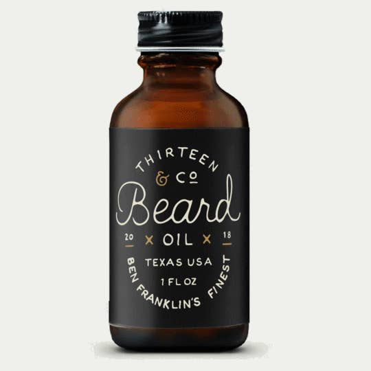 1 oz Ben Franklin's Finest Beard Oil