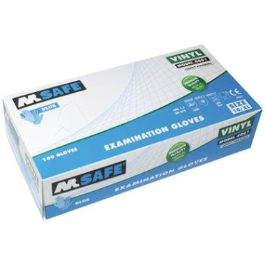 M-Safe 4061 disposable vinyl handschoen (per 1 dispenser)