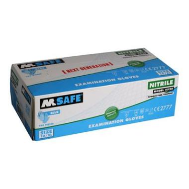 M-Safe 4520 disposable nitril handschoen (per 1 dispenser)