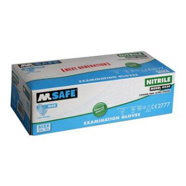 M-Safe 4530 disposable nitril handschoen (per 1 dispenser)