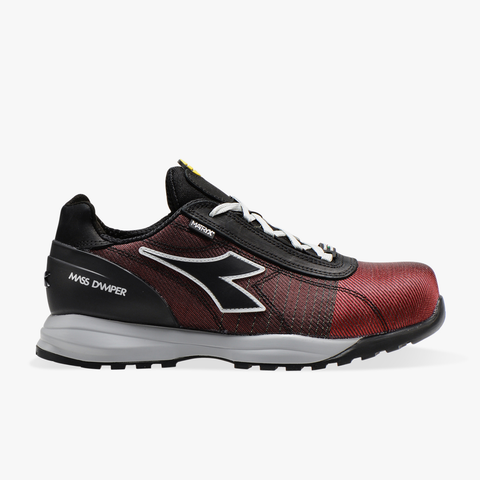 Diadora FLAME RED/BLACK C1164 GLOVE MDS MATRYX LOW S3  HRO SRC 701.176204