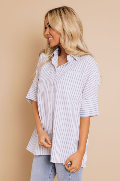 Lacey Striped Shirt