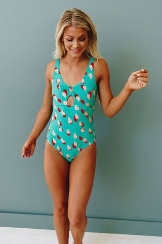 Eastwood Printed One Piece Swimsuit