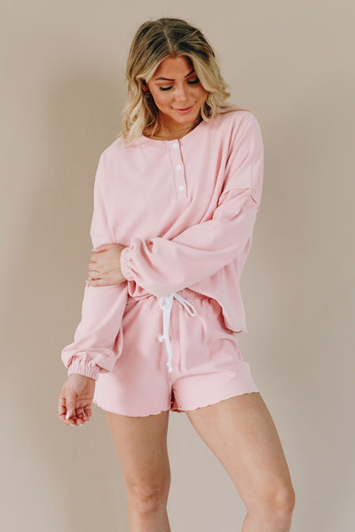 Cloudy Skies Lounge Wear Set