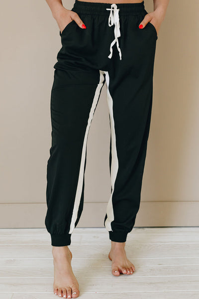 Jefferson Stripe Drawstring Joggers