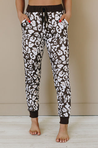 Get it GURRL Patterned Joggers