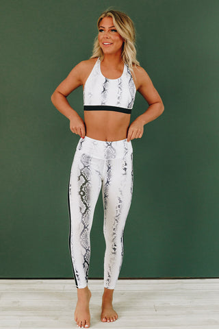 Power Hour Snake Patterned Active Set