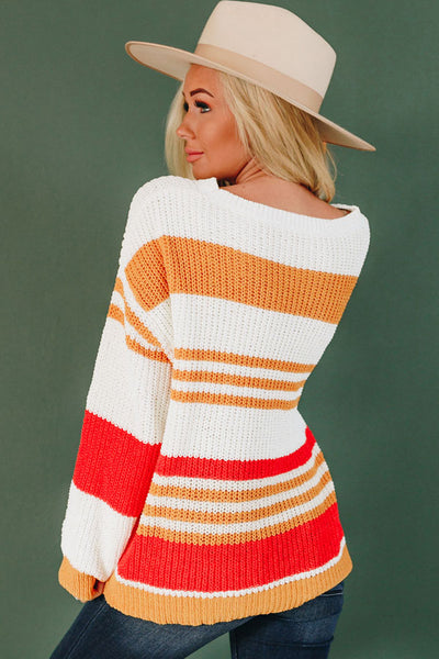 Henry Striped Knit Sweater