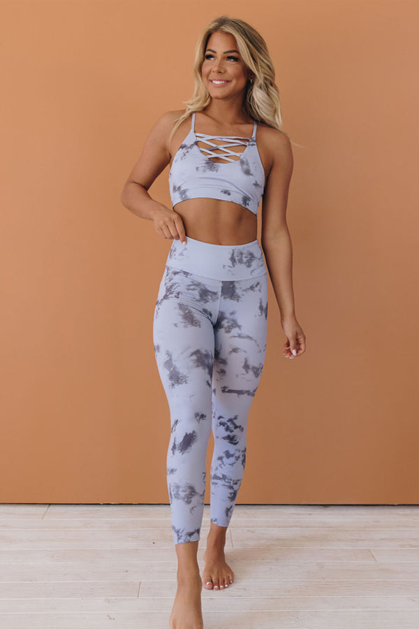 Work For It Tie Dye Active Set