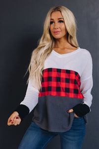 In Plaid Sight Holiday Tee