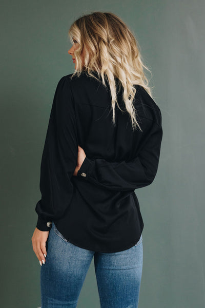 Adore You Button Blouse