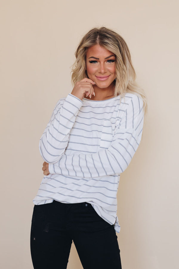 Salem Striped Top