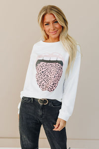 Wild Cat Lips Pullover