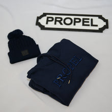 Load image into Gallery viewer, Propel Navy Hoodie