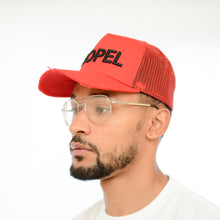 Load image into Gallery viewer, Red Distressed Trucker