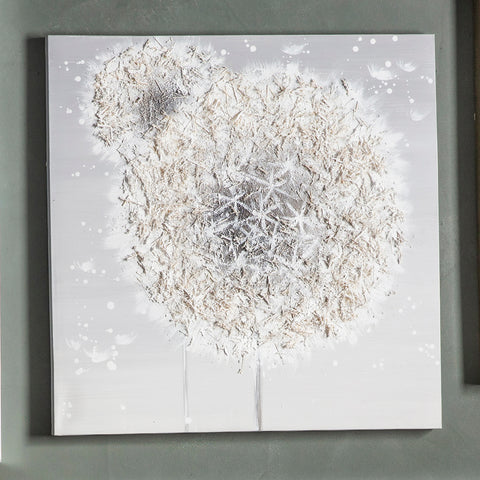 Dandelion Breeze Texured Art
