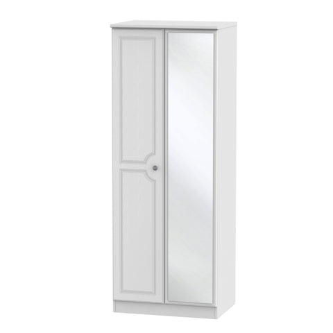 Pembroke Tall 2ft 6in Mirror Robe