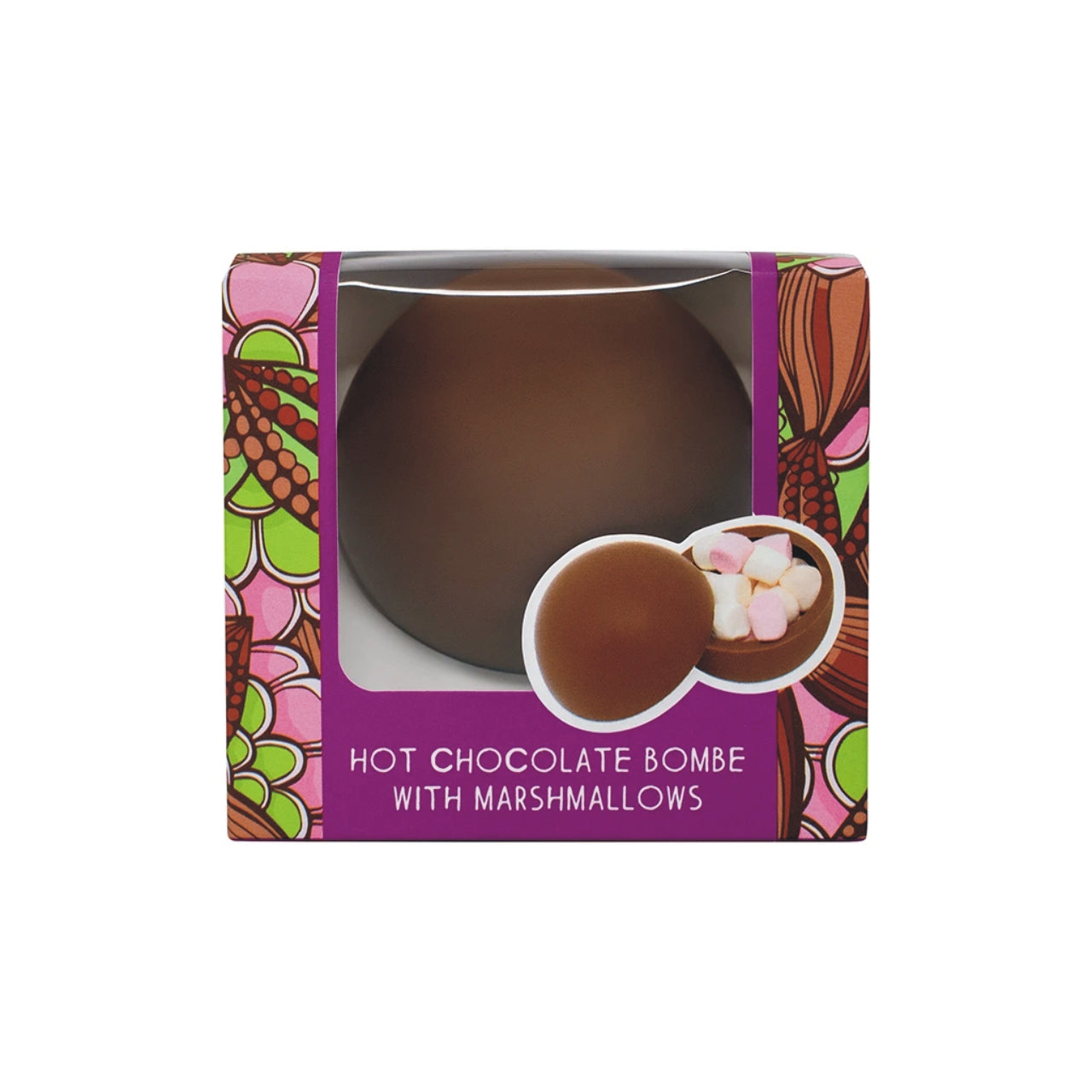 Hot Chocolate Bombe in a Box (Single) 9002