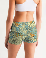 Mellow Yellow Yoga Shorts