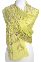 OM Meditation Yoga Scarf