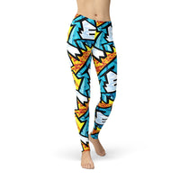 Fire and Ice Yoga Pants