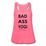 Bad Ass Yogi Tank - Bare Yogis - neon pink
