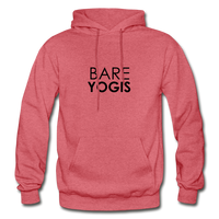 Bare Yogis Heavy Hoodie - heather red