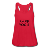 Bare Yogis Flowy Tank - red