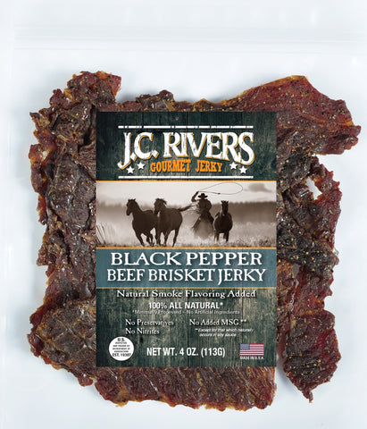 Black Pepper Beef Brisket Jerky