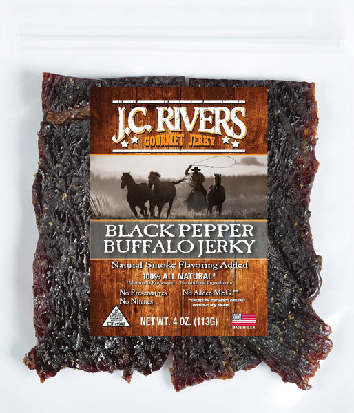 Black Pepper Buffalo Jerky