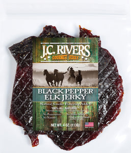 Black Pepper Elk Jerky