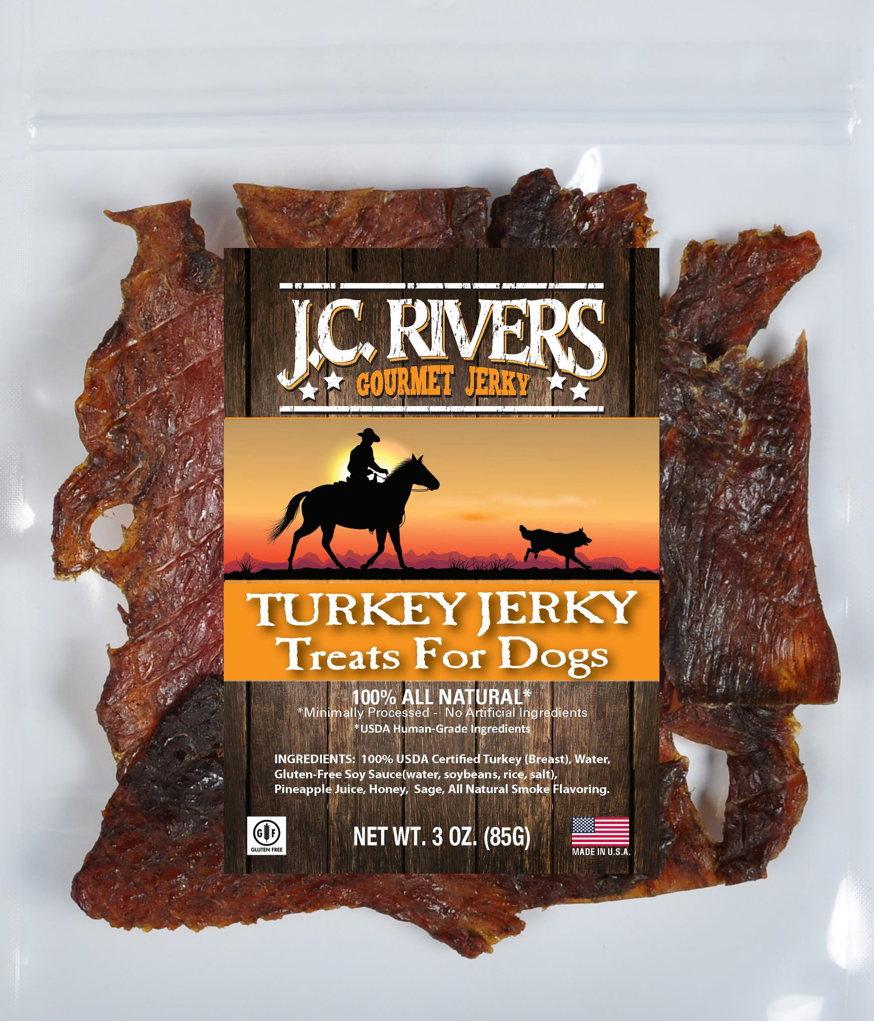 Treats for Dogs - TURKEY Jerky