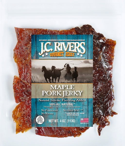 Maple Pork Jerky