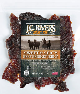 Sweet and Spicy Beef Brisket Jerky