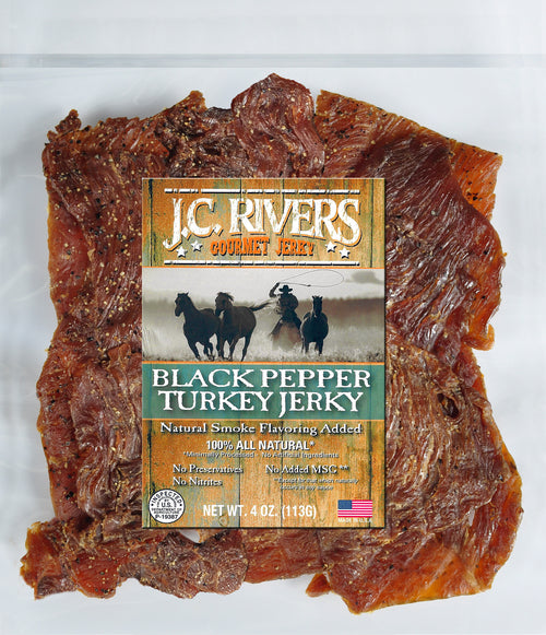 Black Pepper Turkey Jerky