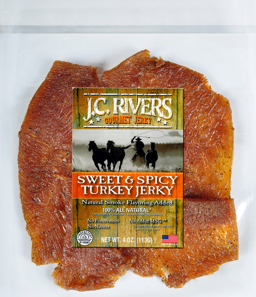 Sweet and Spicy Turkey Jerky