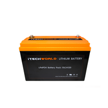 Load image into Gallery viewer, Bundle #8 - Victron/iTECH 120AH Lithium Smart Solar 20A bundle (bluetooth enabled)