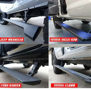 T-Max E-Board Retracting Electronic Side Steps for Toyota Fortuner 2015