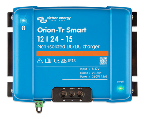 Victron Orion-Tr Smart 12/24-15A Non-isolated DC-DC charger