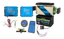 Load image into Gallery viewer, Bundle #9 - Victron/KORR 100AH Lithium Smart Starter bundle (20A Solar & 30A Dc to DC)