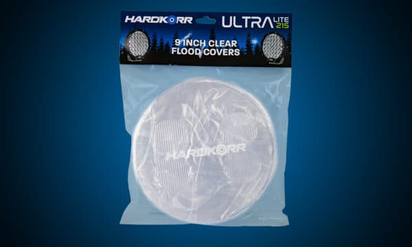 HARD KORR  ULTRA SERIES CLEAR FLOOD COVERS 9''