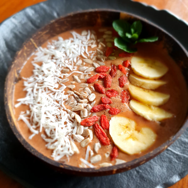 enriching stew with cacao