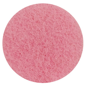 "6"" PINK NYLON CLEANING-BUFFING PAD"