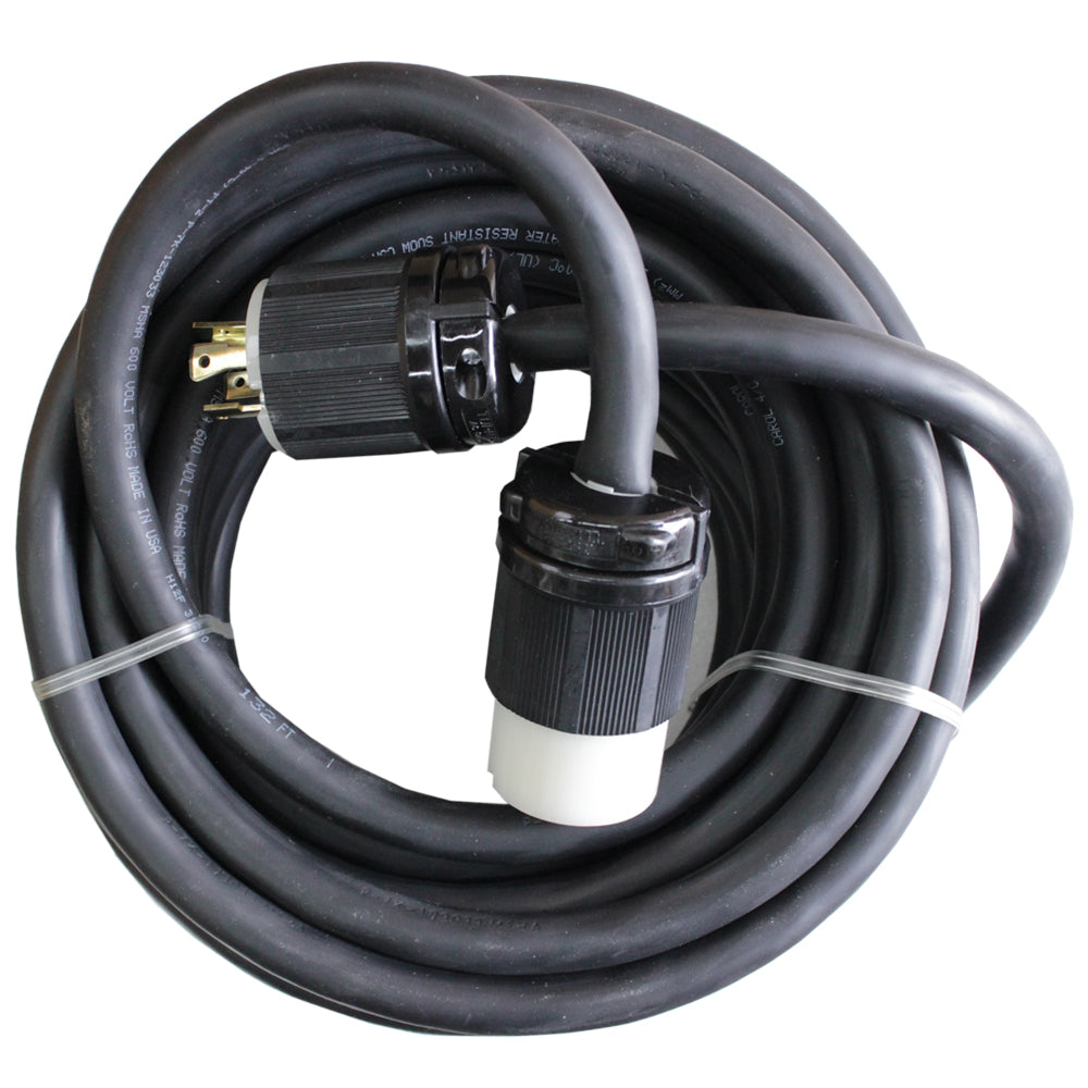 50 ft EXT CORD 3Phase 10-4 ,250V 30A NONMARKING CABLE