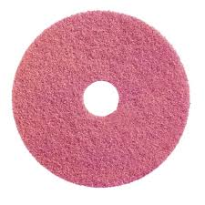 "3"" Pink Nylon CLEANING/ BUFFING PAD"