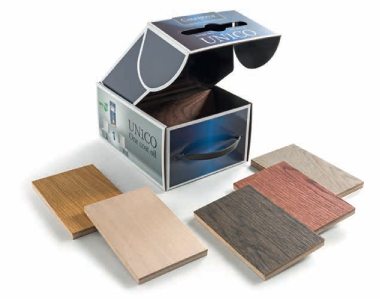 Sample box Unico Wood Samples