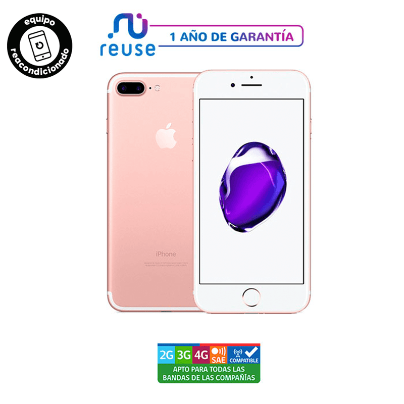 iPhone 7 Plus Oro Rosa 128GB