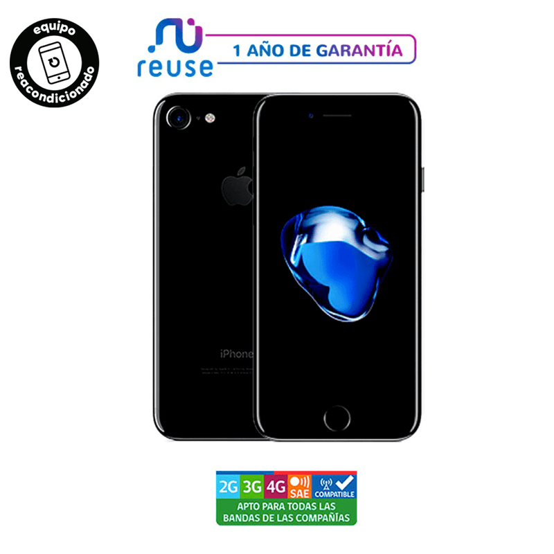 Apple iPhone 7 32GB Negro Brillante