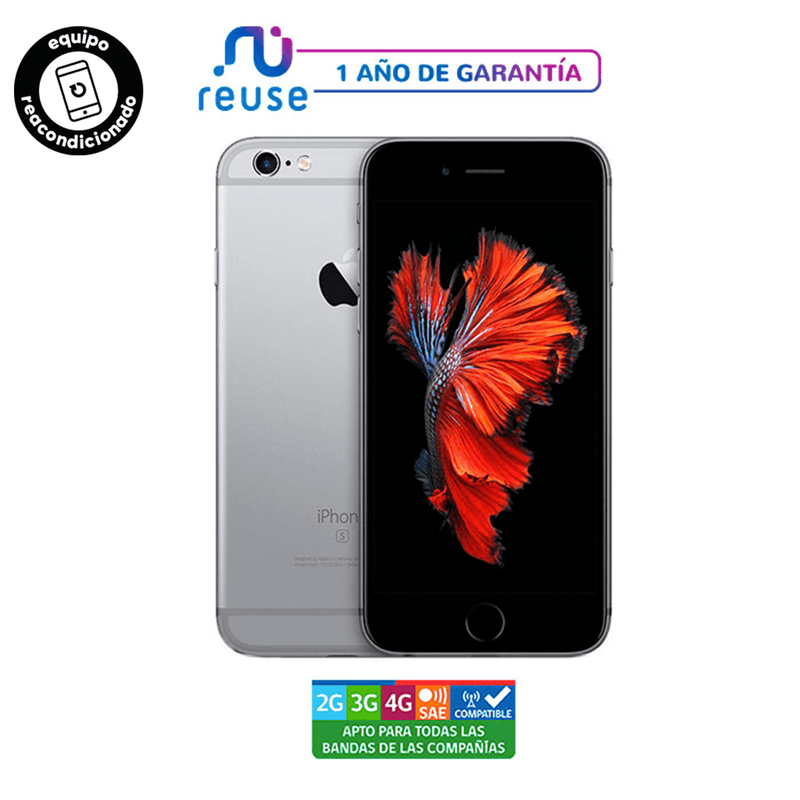 Apple iPhone 6S 16GB Gris Espacial